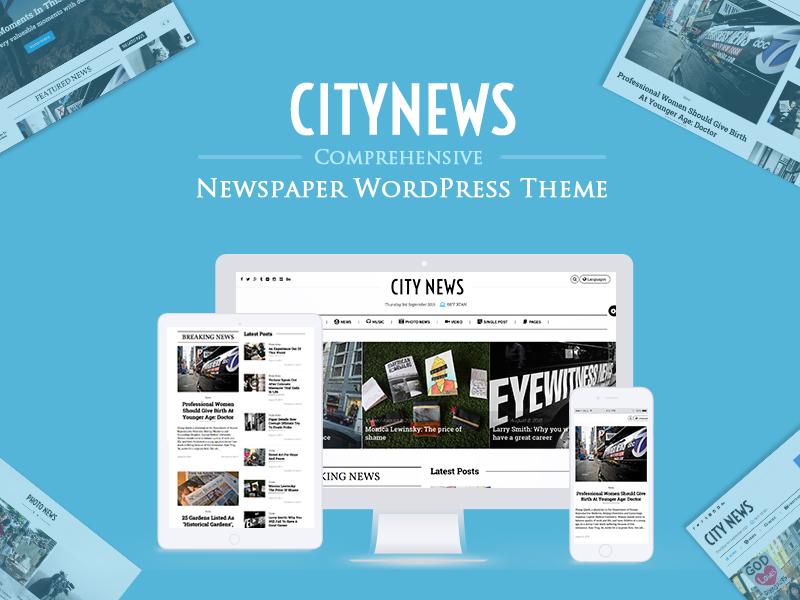 CityNews Theme